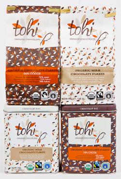 Ciocolata fulgi Tohi
